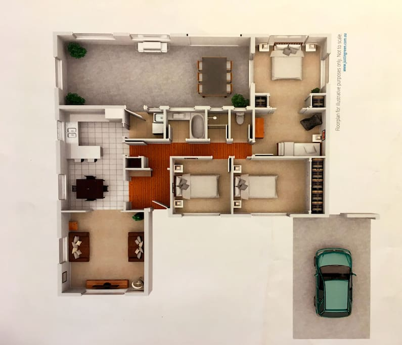 4 bed family home 5 mins to centre case in affitto a for Houseplans vivente del sud