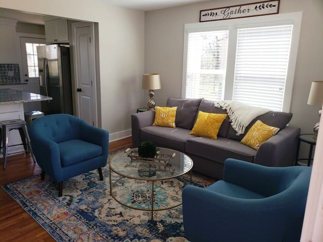 Living Room area opens to Kitchen
