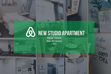 New Studio Apt, Hoan Kiem, near old quarter #0201#