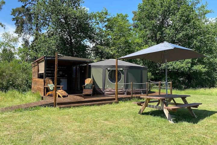 """""""The Yurt"""" at Le Ranch Camping"""