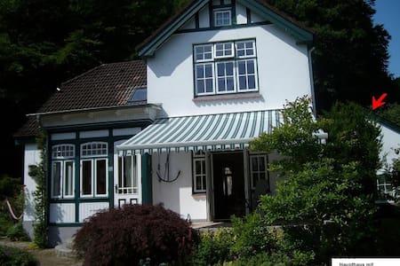 Kapitänsvilla mit Ferienhaus - Casa