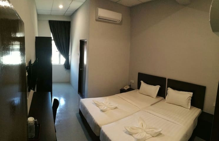 Standard Twin Bedroom - Ipoh - Butikhotel