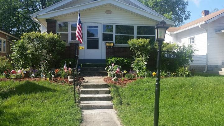 We have a house in Historic Irvington est 1870.