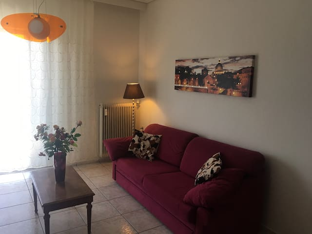 Cosy and modern apartment near the beach - Nea Agchialos - Apartament