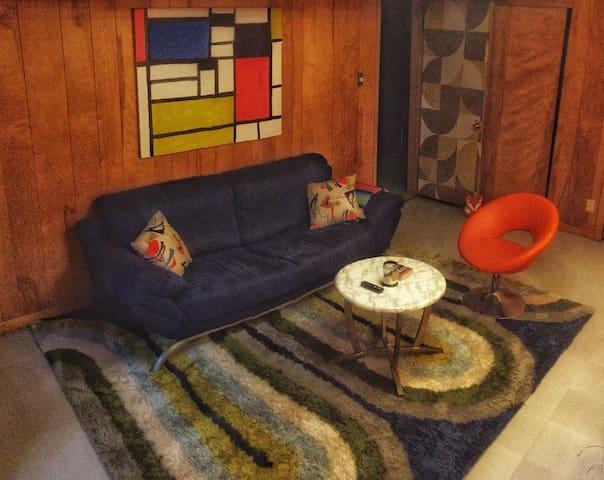 No Cleaning Fee Retro & cozy by UALR, UAMS, trails