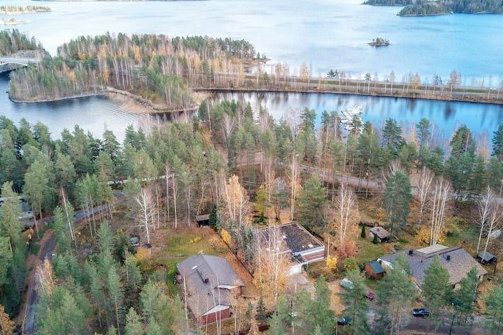 Сottage Taipalsaari House in Lappeenranta for 6+2