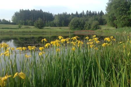 The Field House Farm Stay on Midnight's Farm - Lopez Island - Talo