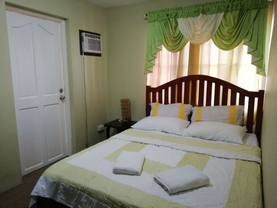 Master's Bedroom and a Queen size Bed