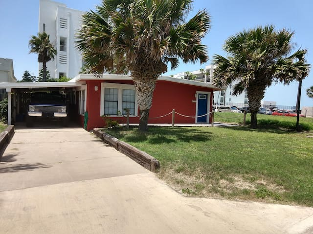 Not a Condo!  Retro Cool Beach Bungalow off Gulf!