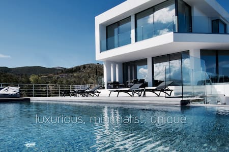 The Luminous Villa - Amazing views, Helipad