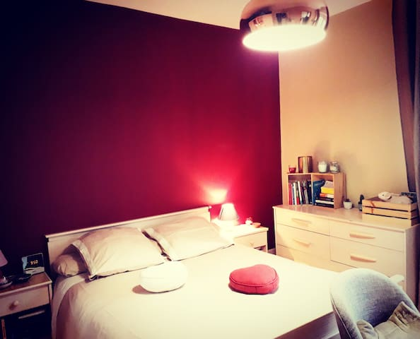 Appartement cocooning spacieux, quartier paisible