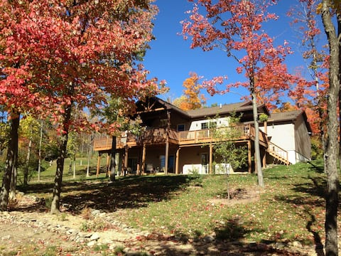 Gorgeous mountain home near Ithaca
