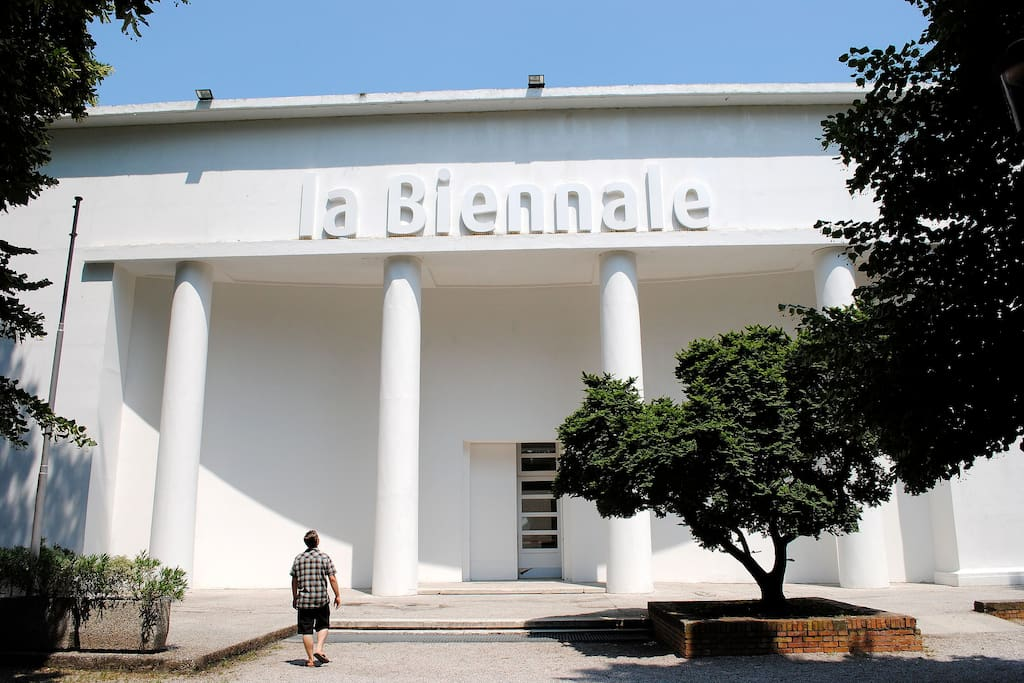Biennale Gardens: just around the corner