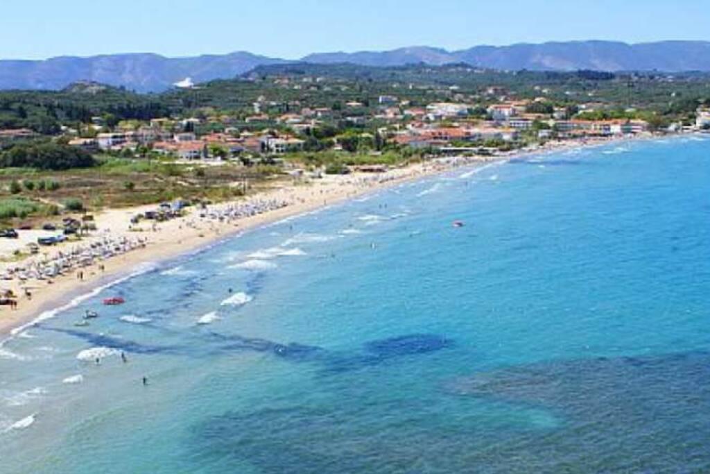 Tsilivi Beach.....