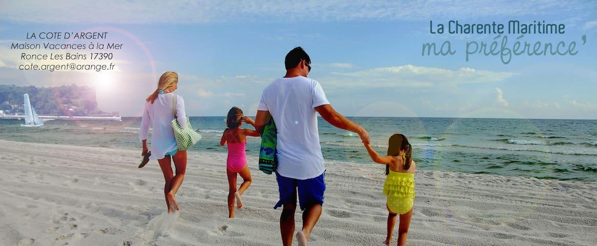 Maison vacances à la mer accès plage - La Tremblade