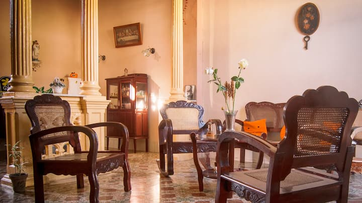 Marilope Hostal, the first place when you arrive!