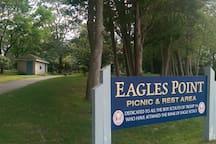 Eagles Point overlooking Beachwood Beach.