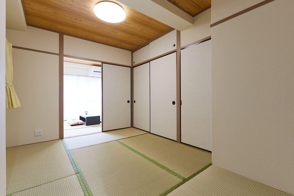 清潔な和室 Clean Japanese style room