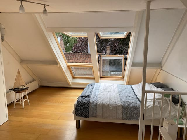 SPACIOUS ROOM IN UTRECHT CITY CENTER WITH A VIEW