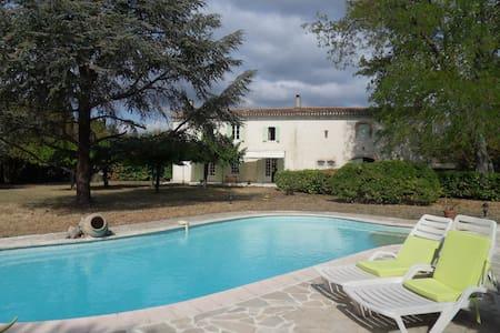 Maison de charme à 15 mn de Carcassonne - 卡尔卡松 - 自然小屋