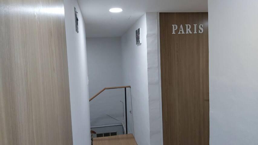 Habitación Paris para una o dos personas