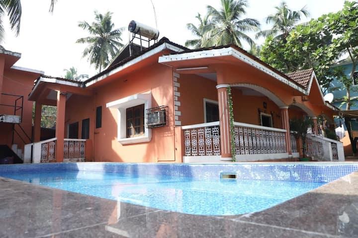 Private Pool Villa Calangute, 3 BHK