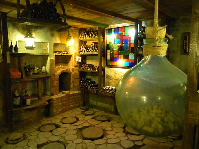 Artist's cellar in Telavi