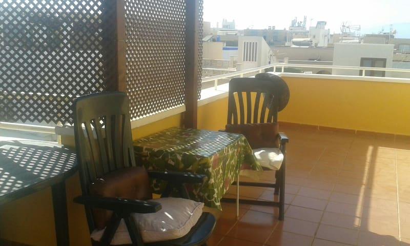 Apartamento  playa con  terraza - Cabo de Gata