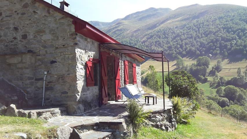 la Lountère, maison de montagne (chalet)