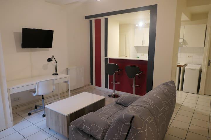 Studio à Dijon hyper centre