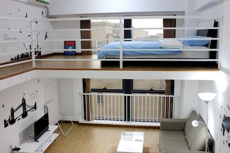长阳地铁站旁 loft家庭房出租 情侣小家庭 首选 - ปักกิ่ง - เซอร์วิสอพาร์ทเมนท์