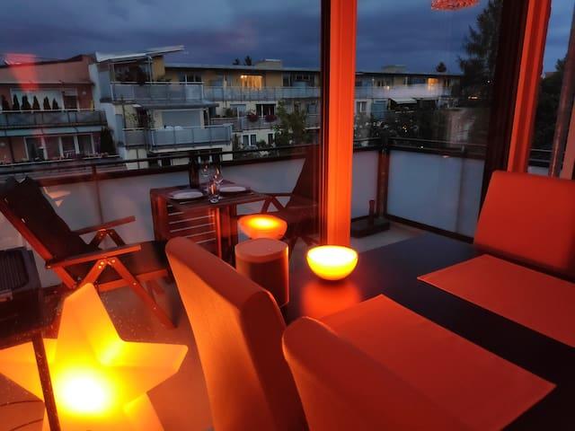 Helle Wohnung (93qm) mit 2 Balkonen zum Wohlfühlen