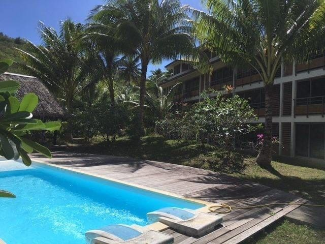 2 bedrooms  condo with swimming pool.