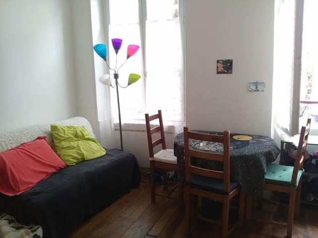 Quiet and cosy apartment in Paris