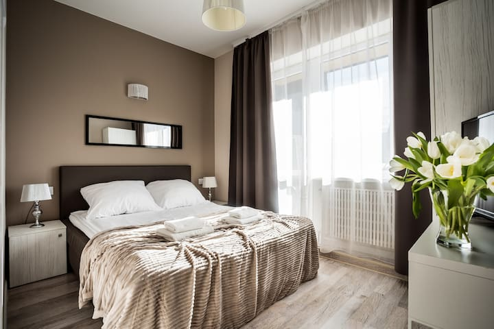 Comfort Double Room with Balcony - Roomworld.onlin