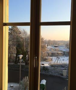 Privat Zimmer mit Aussicht - Münchenstein - Inap sarapan