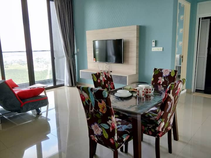 3 min walk to Legoland +WiFi (1 bedroom)