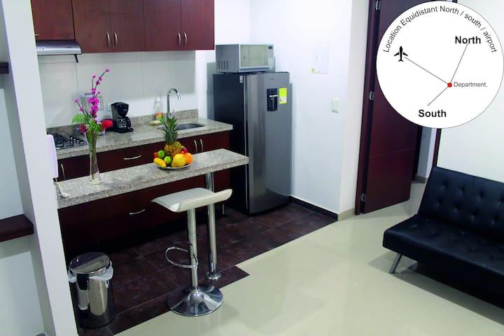 Apartamento confortable & moderno -  Chapinero