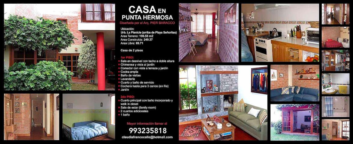 Punta Hermosa - Lima - Dům