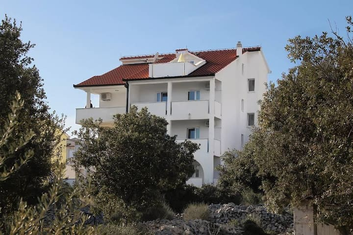 Studio flat with terrace and sea view Sevid, Trogir (AS-6024-b) - Sevid - Jiné