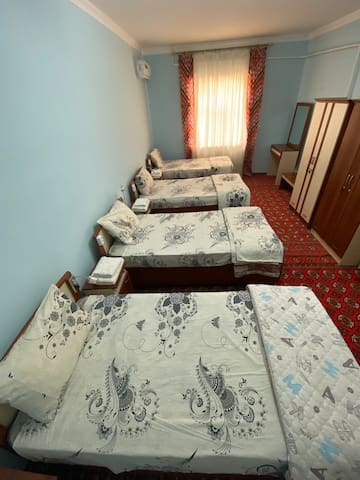 Khiva's pleasant and charming Mixed dormitory
