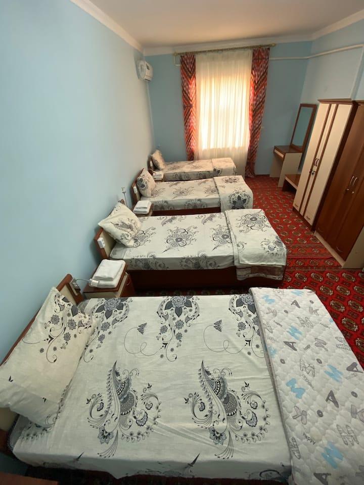 Khiva's pleasant and charming Mixed dormitory