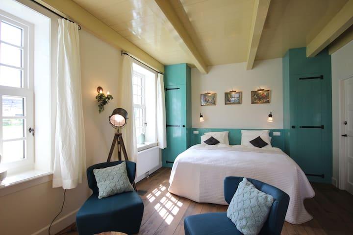 Kamer In't Woud, B&B Lhee, met zwembad en sauna - Dwingeloo - Bed & Breakfast
