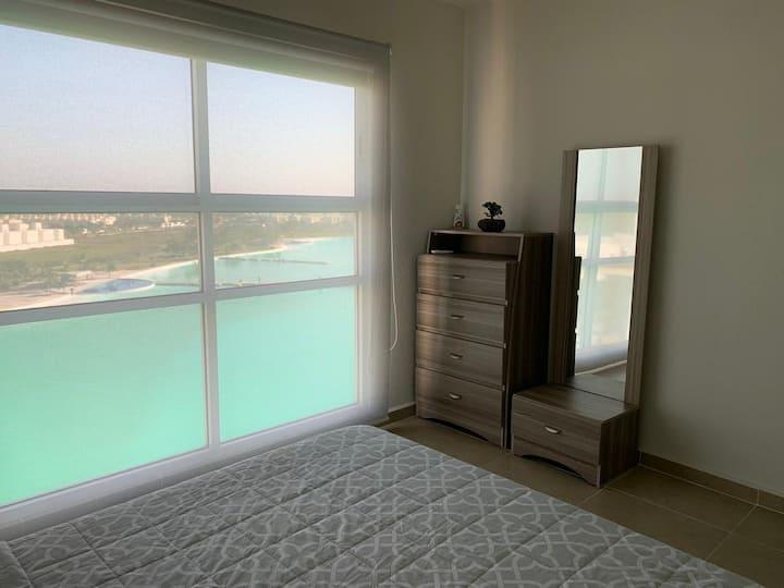 Cómoda habitación privada dream lagoons