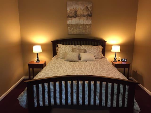 Master Queen Bedroom #1