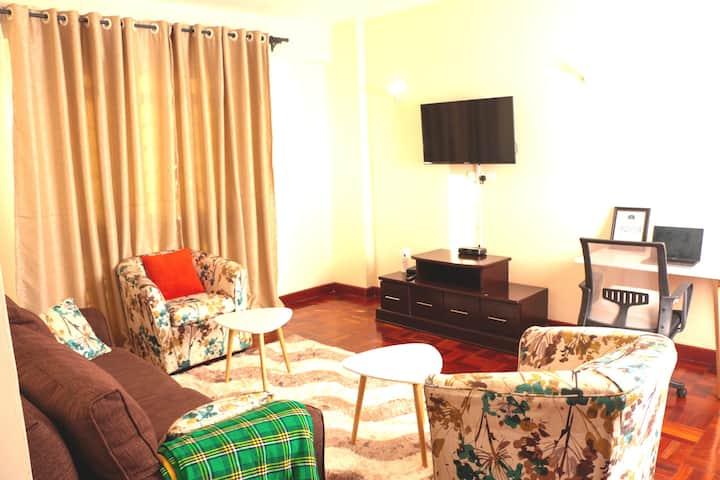 Stylish Living BNB Furnished Apt Westlands Nairobi