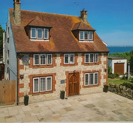 Steps from the beach, private parking, en-suite - Bembridge - Σπίτι