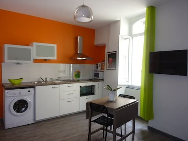Letheo Beau studio coeur d'Aubenas - Aubenas - Apartment