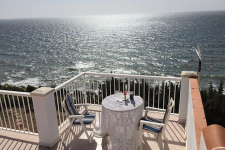 Amazing villa overlooking the Mediterranean Sea - Vélez-Málaga - Hus