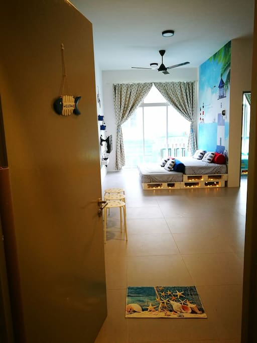 Welcome to Blue Romance Homestay!